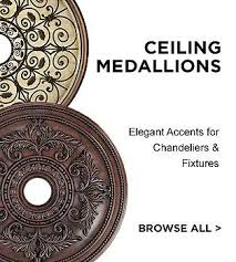 What Size Ceiling Medallion For Chandelier Ceiling Medallions Lamps Plus