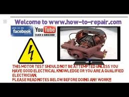 how to test a washing machine motor ac making a test rig for the