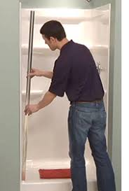 how to shower door installation u2013 pivot sliding u0026 tub delta