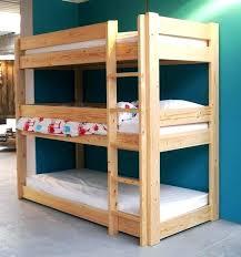 Diy Toddler Bunk Beds Diy Bunk Bed Plans Cafedream Info