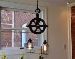 Industrial Lighting Fixtures For Kitchen Pulley Light Wall Light Industrial Lighting Lighting