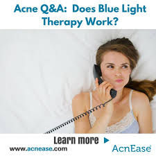 what is light therapy does blue light therapy really work to get rid of acne