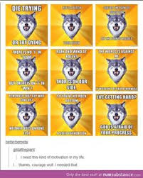 Courage Wolf Meme Generator - marching band tumblr band memes pinterest marching bands