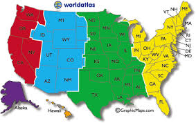 united states map with state names and time zones current dates and times in u s states map