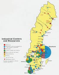 map of sweden nationmaster maps of sweden 13 in total