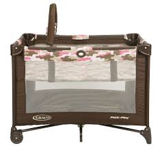 Pink And Brown Graco Pack N Play With Changing Table Graco Pack N Play Playard Camo Camo Playpen