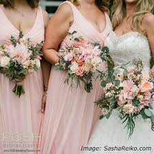 bridesmaid bouquets bouquets archives seattle wedding flowers by posh
