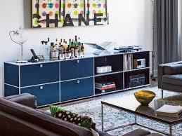 Living Room Shelf Unit by Sectional Modular Metal Storage Unit Usm Haller Sideboard For