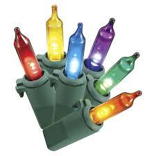 philips 60 count led multi color mini light set home