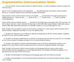 57 best aac writing goals u0026 objectives images on pinterest