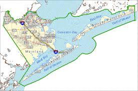 map of galveston fullcnty