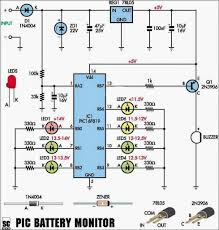 a car battery monitor circuits projects