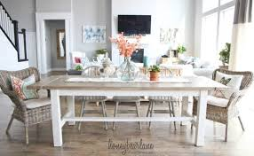 build a rustic dining room table 40 diy farmhouse table plans ideas for your dining room free