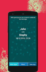 marriage invitation online wedding invitation maker android apps on play