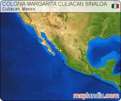 sinaloa mexico map colonia margarita culiacan sinaloa culiacan satellite map