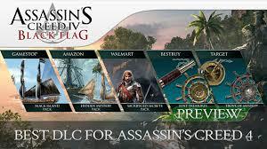 Ac4 Black Flag Assassin U0027s Creed 4 Black Flag 5 Pre Order Dlc U0027s Preview Which