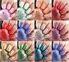 opi nail polish colors for summer 2017