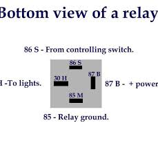 pleasing 4 pin relay wiring diagram diagram pinterest with