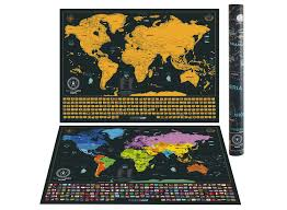 World Map Country Flags Scratch Off World Map Poster With Us States And Country Flags