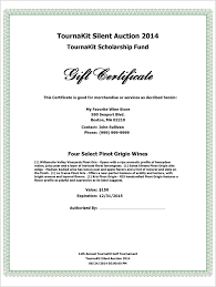 donation certificate template example driver appreciation
