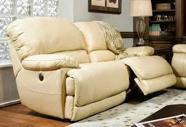 Power Recliner Sofa Reviews 49 White Leather Power Reclining Sofa Cannon Leather Power