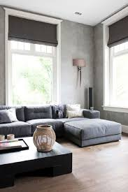 Modern Gray Sofa by Stunning Modern Gray Living Room And White White Frame Window Wall