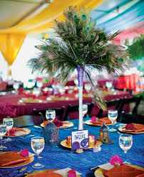 Peacock Feather Centerpieces by 54 Best Quince Ideas Images On Pinterest Peacock Theme Peacock