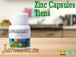 Obat Zinc jual produk zinc capsules tiens manfaat fungsi harga kandungan