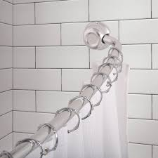 48 Curved Shower Curtain Rod Shower Curtain Rods Utopia Alley