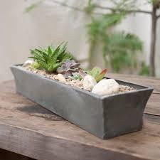 zinc windowsill trough garden planters planters and zinc planters