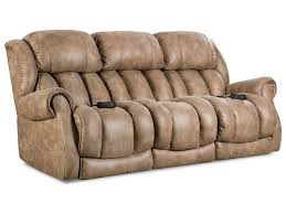 Homestretch Reclining Sofa Homestretch Atlantis Casual Power Reclining Sofa With Rolled