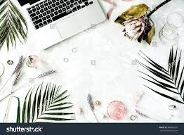 Accounting Office Design Ideas Awesome Flat Lay Feminine Home Office Workspace With Laptop Flower