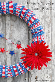 4th of july wreaths diy patriotic wreath ideas for 4th of july or memorial day hative