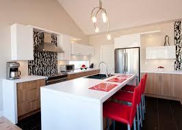 stratifié comptoir cuisine cuisine contemporaine comptoir de stratifié armoire de mélamine