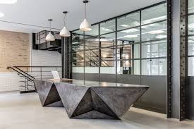 Concrete Reception Desk Polished Concrete Reception Desk Maybe A With The