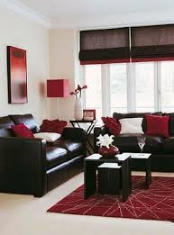 red and black living room designs living room design with black leather sofa design ideas