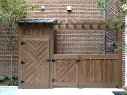 garbage can storage shed home design ideas and pictures