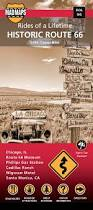 Historic Route 66 Map by Mad Maps Rol66 Rides Of A Lifetime Road Trip Map Rol Route 66