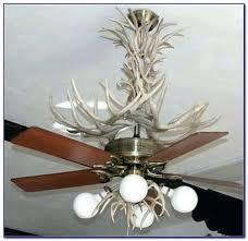 Deer Antler Ceiling Fan Light Kit Antler Ceiling Fan Impressive Faux Deer Antler Chandelier Antler