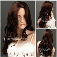 whosales long weaves curly brown wigs for women wigs