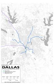 Dart Map Dallas by 8 Dallas U2013 Fort Worth Intermodality