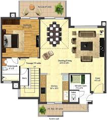 side duplex apartments flats for sale in the centre of kyrenia