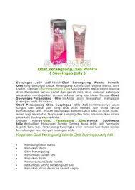 obat perangsang oles wanita suoyingao jelly asli di surabaya by