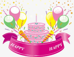 birthday cake birthday celebrate balloon png image for free