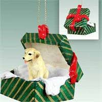 yellow lab ornaments at doggiechecks