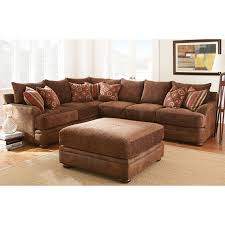 Wayfair Sectionals Furniture Brown Wayfair Sectionals Sofa With Brown Ottoman Coffee