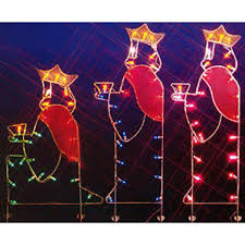 Lighted Outdoor Christmas Nativity Scene by Amazon Com Northlight Seasonal 31082803 Three Wisemen Nativity
