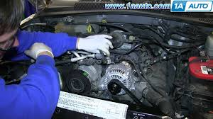 2005 jeep liberty radiator fan how to install replace engine coolant temperature ect sensor 2002