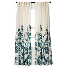 Target Turquoise Curtains by Threshold Climbing Vine Window Panel Target 24 99 Per Panel