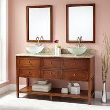 Double Sink Vanities For Bathrooms by Black Double Sink Vanity Signature Hardware